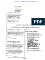 Int'l Med. Devices. v. Cornell - Complaint