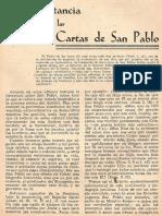 Straubinger - La importancia de las Cartas de San Pablo.pdf