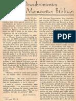Straubinger - Nuevos descubrimientos de Manuscritos Biblicos.pdf