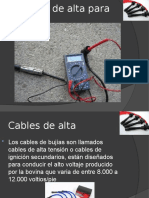 Cables de alta para bujías.ppt