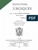 Dom Prosper Gueranger - Institutions liturgiques (tome 4).pdf