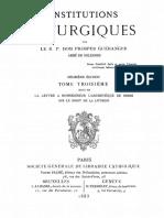 Dom Prosper Gueranger - Institutions liturgiques (tome 3).pdf