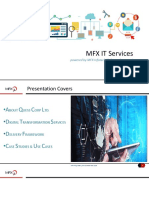 MFX Infotech - Corporate Profile