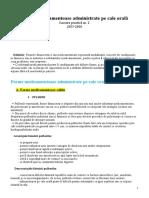Lucrare practica 02 - Forme medicamentoase administrate pe  cale orală.doc