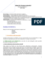 Lucrare practica 04 - Notiuni de farmacocinetica.doc