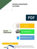Modifikasi lingkungan pasca panen_1