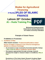 AlHuda Lahore 20-10-2008 Principles of Islamic Finance