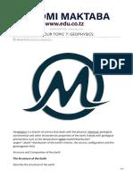edu.co.tz-PHYSICS FORM FOUR TOPIC 7 GEOPHYSICS