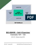BIS 458-658 - Unit 4 Exercises 2019