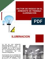 factores de riesgos iluminación