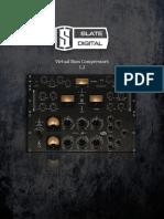Slate Digital Virtual Buss Compressors Rack - User Guide