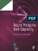 Acute Hospital Bed Capacity
