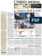 Wallstreetjournal 20160210 the Wall Street Journal
