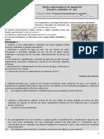 Ficha de trabalho - neurónios e bomba sódio-potássio