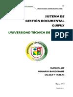 Manual Quipux Usuario Final UTM