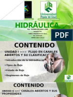 CLASE I-HIDRAULICA-I SEM 2020-VDL