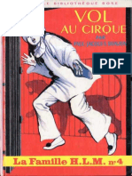 Famille H.L.M. 4 - Vol Au Cirque - Paul-Jacques Bonzon