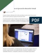 8 buenas prácticas en épocas de educación virtual - Mumuki - Medium