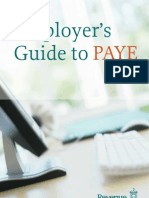Employers Guide to Paye