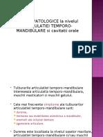 Patologia articulatiei temporomandibulare