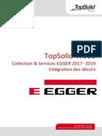 TopSolid'Wood EGGER-2017_2019 Intégration des décors