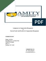 Assignment on Compensation Management