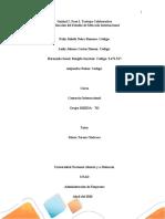 Trabajo Colaborativo, Fase 2; Realizacón del estudio de mercado internacional