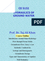 Introduction to Hydraulics  of ground water and wells.pptx