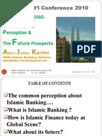 Islamic.banking-The Common Perception&Future Prospects by Karimi.k