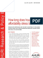 AHURI RAP Issue 129 How Long Does Housing Afford Ability Stress Last