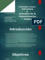 Trabajo Fase 1. Estructura y Principios de la Administarción Publica. Hernando Rengifo.