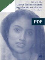 Lagarde, Marcella. Claves feministas para la negociación del amor.pdf