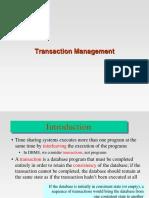 Transaction Management - I