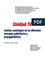 Unidad IV de Semiología Informe