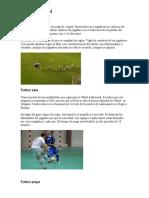 Tipos de fútbol