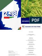 Boletín Estadístico Casanare 2018