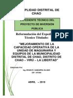 EXPEDIENTE  TECNICO DE MAQUINARIA - CHAO.pdf