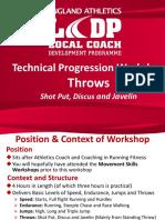 regional technical workshop throws feb16