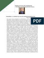 FRONTERAS Y LA URGIDA POLITICA DE CONTENCIÓN GEOPOLITICA