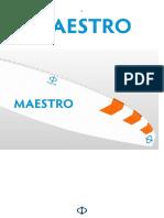 Phi Maestro Manual