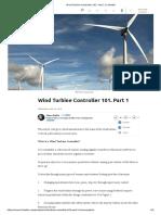 Wind Turbine Controller 101. Part 1 _ LinkedIn