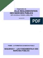 Présentationp PP Vulgarisation Du Nouveau DP Portant RMP
