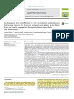 Anthropogenic Rare Earth Element in riversGadolinium and lanthanum