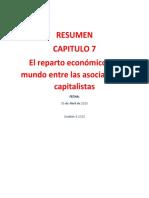 Grupo2-El Reparto económico del mundo entre las asociaciones capitalistas