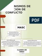 MECANISMOS DE SOLUCION DE CONFLICTO
