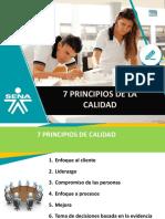 2. 7 Principios de calidad