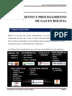 3. Tratamiento y procesamiento de gas en Bolivia
