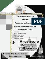 Trabajo de Arquitectura Barroca