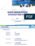 sample data migration plan computer data information technology