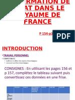 L'AFFIRMATION DE L'ETAT DANS LE ROYAUME DE FRANCE